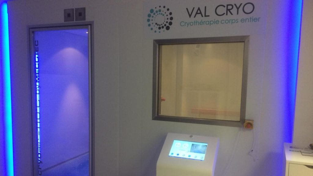 valcryo, cryothérapie
